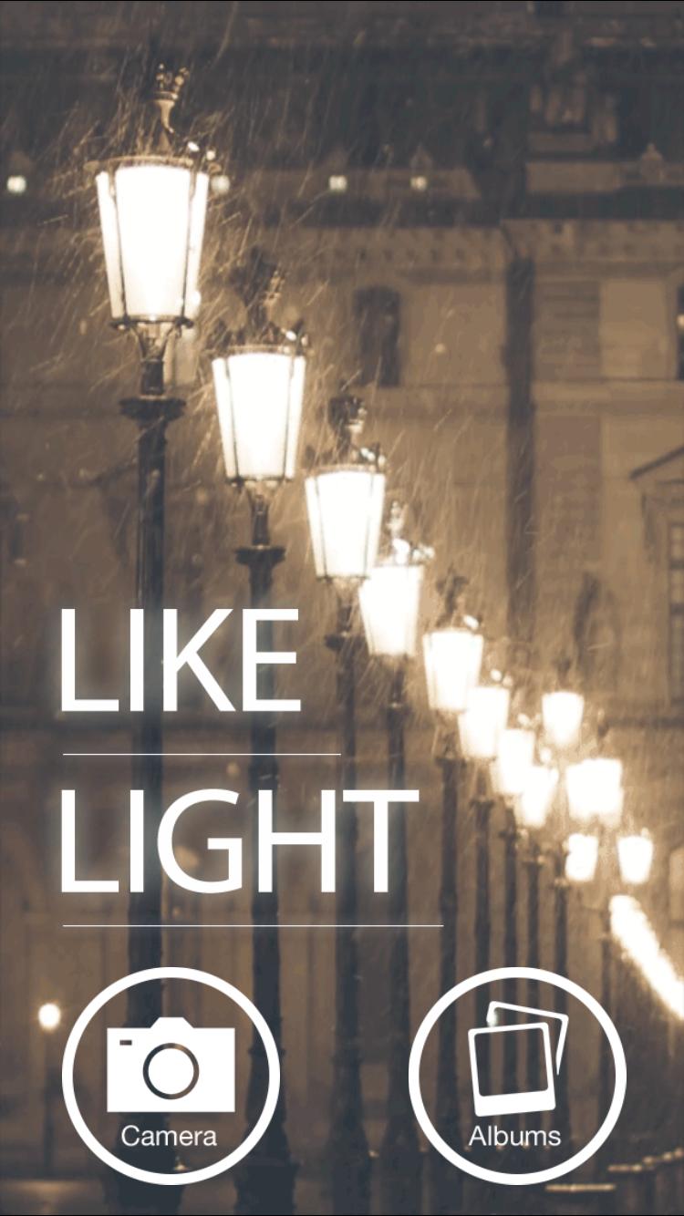 LikeLightタイトル